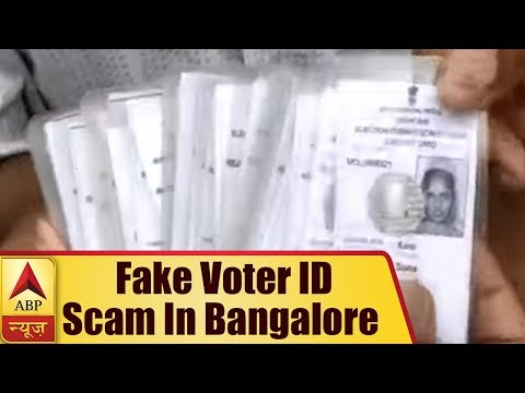 Bangalore: Around 10 Thousand FAKE Voter ID Cards Found At An Apartment in Jalahalli Area   ABP News