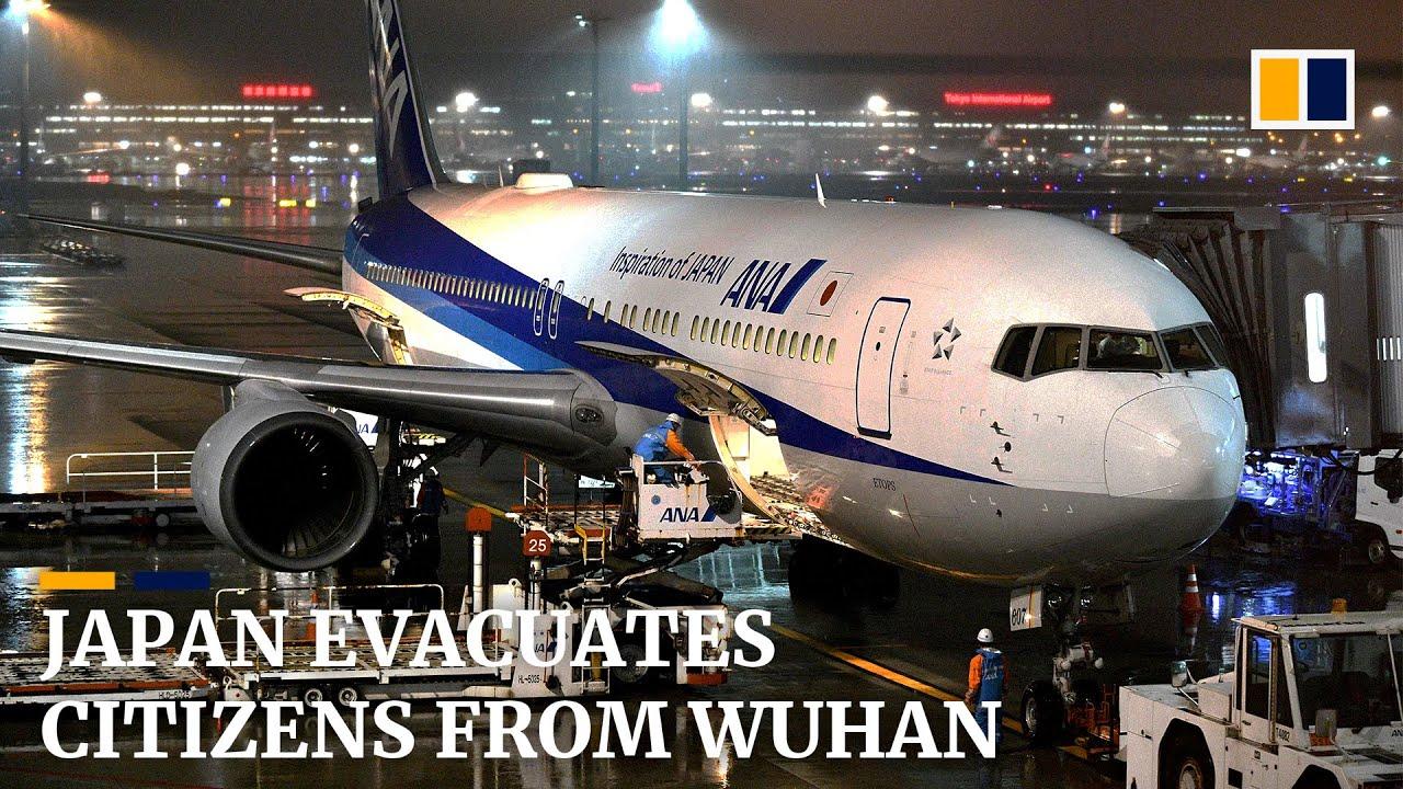 Japan flies citizens home from virus-hit Wuhan