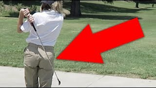 embarrassing myself on a golf course grace helbig