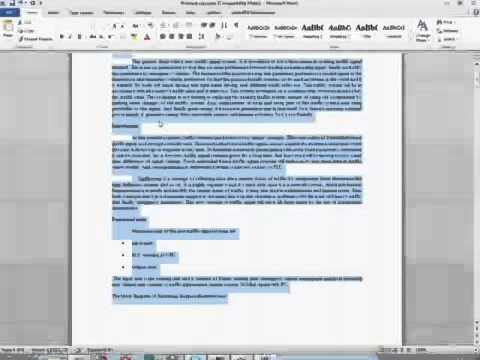 How to make IEEE Formated paper