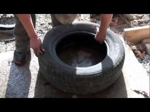 Cheap tire cutter By Adam Johnson
