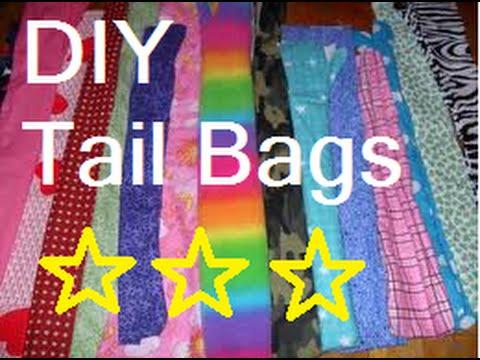 DIY tail bags