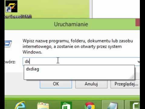 Jak sprawdzić wersję Directx Windows 8.1