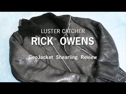 Rick Owens GeoJacket Shearling | Review & Sizing |