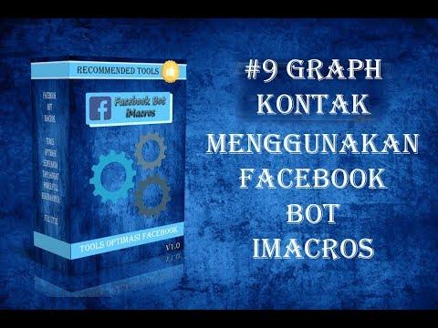 #9 Graph Kontak Facebook Bot iMacros