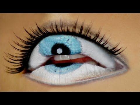 The Third Eye - Freaky Lips Halloween Tutorial