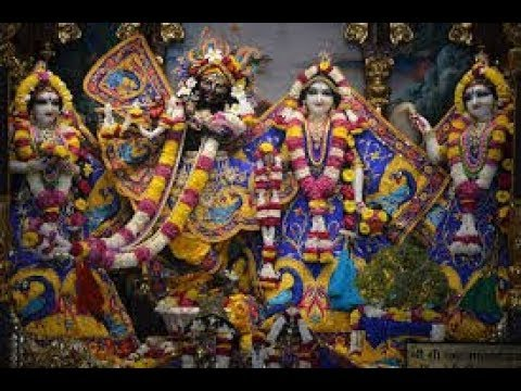 Sri Sri Radha Madan Mohan Temple Mangal Arati Darshan 30th May 2018 Live from ISKCON Ujjain