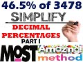 Trick 219 - Calculate Decimal Percentages Mentally - Part 1