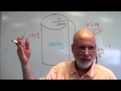Classroom Lecture Fluids 14 Pressure and Density of a Metal