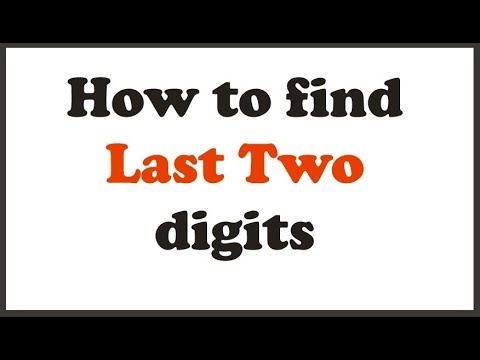 Finding Last two digits of 7^2008