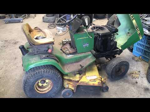 John Deere 116 - John Deere rasentraktor - John Deere 116 lawn tractor