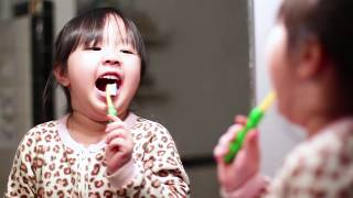 Brushing Teeth For Children - The Right Way and Wrong Way of Kids Fun Brushing