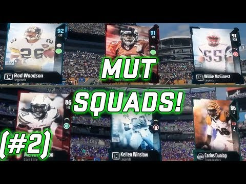 MUT Squads! Gameplay and Tips! (#2) Madden NFL 18 Ultimate Team