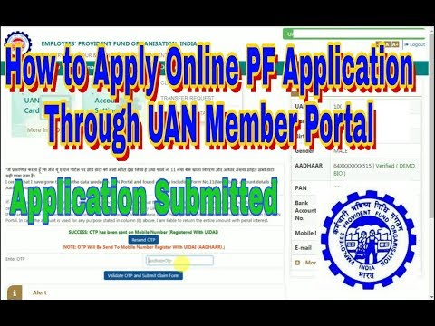 How to Apply Online PF Withdrawal Application | Online PF Claim Process | PF Claim Through UAN login