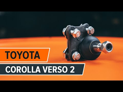 How to change a ball joint TOYOTA COROLLA VERSO 2 TUTORIAL   AUTODOC