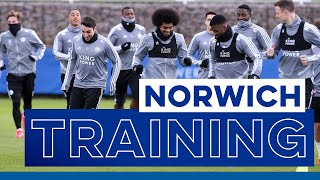 Training   Norwich City vs. Leicester City   2019/20