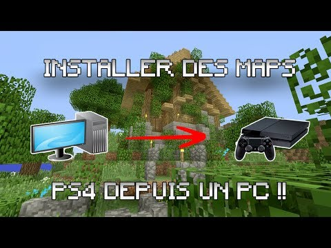TUTO - Installer une map minecraft PS4 depuis un PC !?!