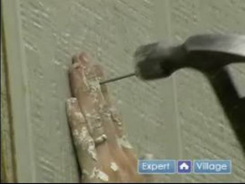 How to Replace Rotted Siding on your House : How to Install New House Siding on your Home