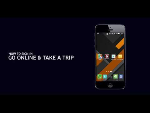 04 Uber partner App   How to install   Go online   Take a Trip