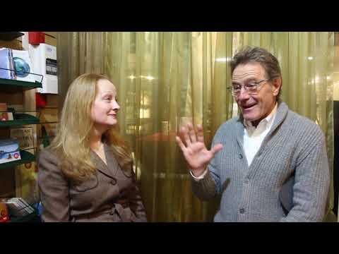 Bryan Cranston with Susan Wands at Watkins Books