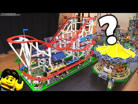 LEGO city Mellemby District: Roller Coaster Yay or Nay?