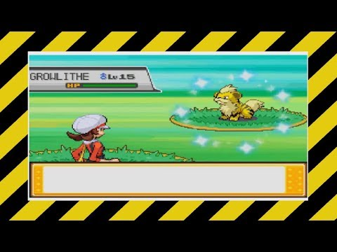 [HeartGold SBQ #6] Live! Shiny Growlithe After 4,979 Encounters