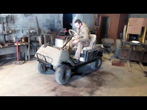 Yamaha G1 Part 26: The Golf Cart Moved For the First Time