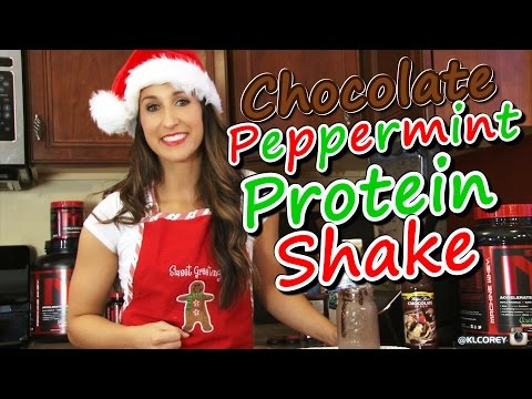 Chocolate Peppermint Protein Shake