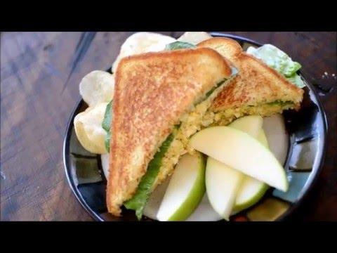 How to make a Tuna Melt Sandwich/ w Pepper Jack Cheese