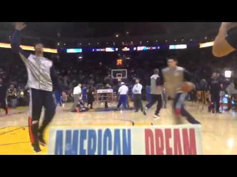 American Dream alla Oracle Arena di San Francisco