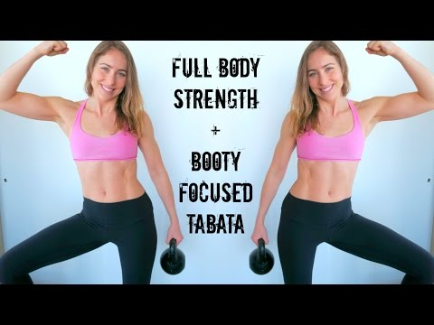 STRONG & LEAN | Full Body Strength w/ Glute-Focused Tabata