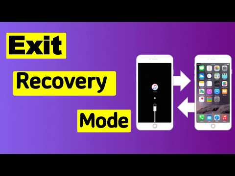 how to exit recovery mode without restore your iphone or ipad