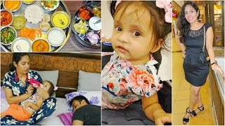 GIP Mall, Family, Food, Naughty Ana | A Day In My Life | ShrutiArjunAnand