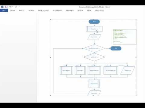 Menu-Driven Program - Writing the main() - Part 1