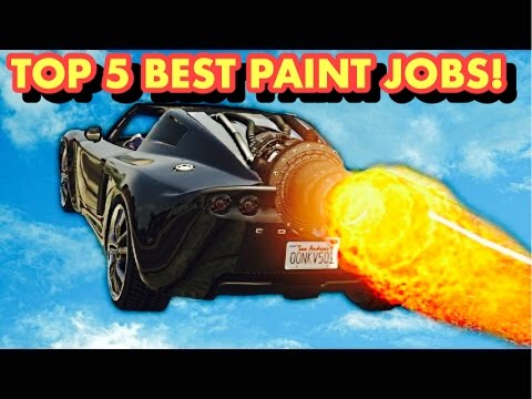 TOP 5 BEST PAINT JOBS OF THE NEW COIL ROCKET VOLTIC ( GTA 5 ONLINE )