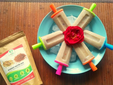 Nutri Mix Popsicles for Summer