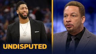 Chris Broussard believes AD will join LeBron & the Lakers: 'It's going to happen'   NBA   UNDISPUTED