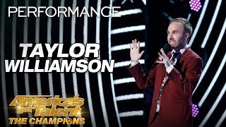 Download Taylor Williamson: Totally Awkward And Funny Comedian - America's Got Talent: The Champions Video