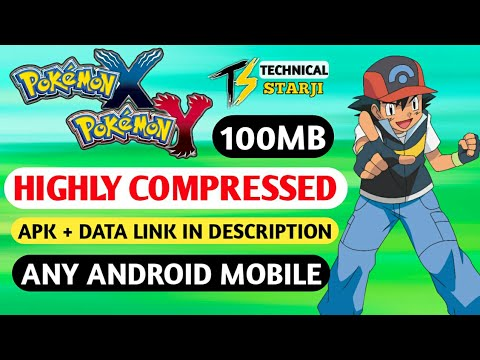 (100MB) Download POKEMON X AND Y Game On Any Android || Highly Compressed || HINDI