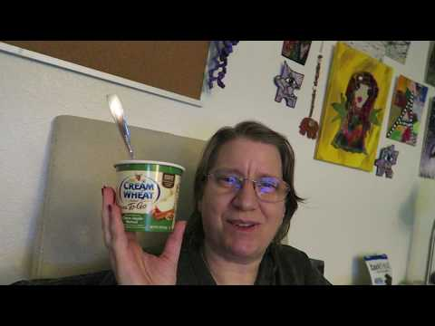 Cream of Wheat Hot Cereal to Go Cinna-Apple Walnut