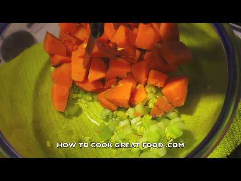 Fantastic Sweet Potato Salad Recipe - Vegan No mayo Healthy Salad