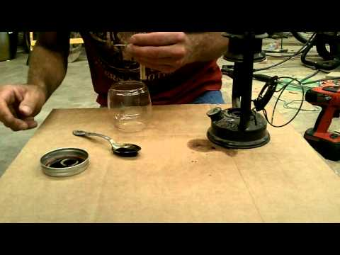 Birch oil experiment: Lamp Oil