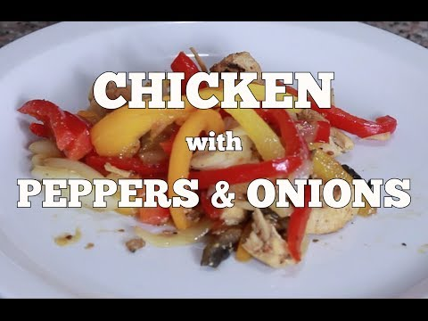 Ghetto Gourmet Ep#9 CHICKEN w PEPPERS & ONIONS