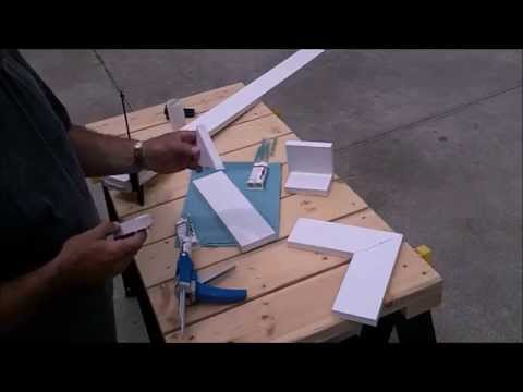 PVC TRIMWELDER - How to Finish PVC Trim Cut Edges and Ends