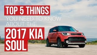 5 things you should know about the 2017 Kia Soul Turbo