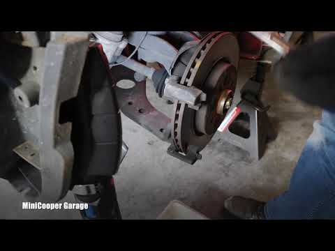 How To Remove Brake Pads Carrier on Mini