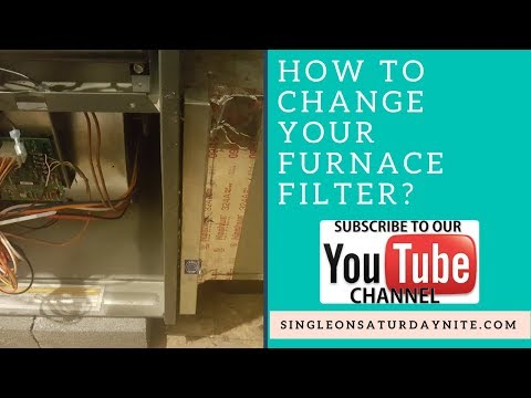 How to change Your Goodman furnace filter l Single Ladies DIY