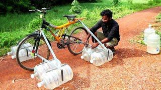 WATER CYCLE MAKING | വെള്ളത്തിൽ ഓടുന്ന സൈക്കിൾ ഉണ്ടാക്കിയാലോ  | M4 TECH |