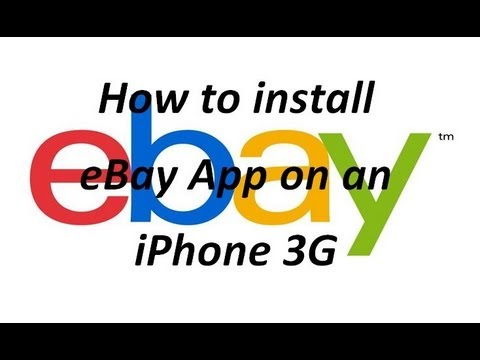 How to install eBay App on an iPhone 3G - Fully Working WD6