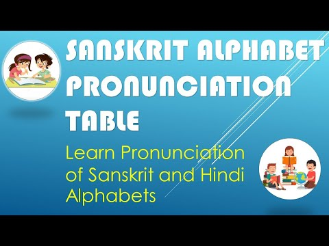 Learn Sanskrit Alphabet Pronunciation  from www.devnagrisoft.com